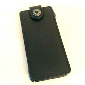 Coach Black Leather iPod case
